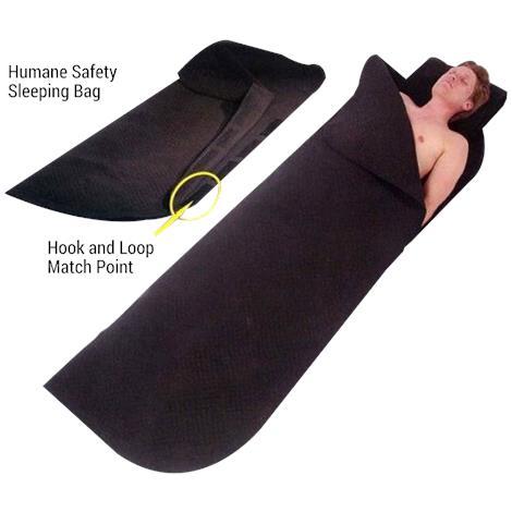 Humane Restraint Safety Sleeping Bag
