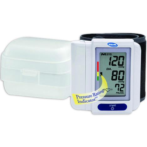 Invacare Deluxe One Touch Digital Wrist Blood Pressure Monitor Kit