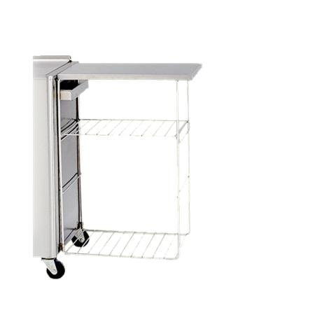 chattanooga side table rack wire shelving. Black Bedroom Furniture Sets. Home Design Ideas