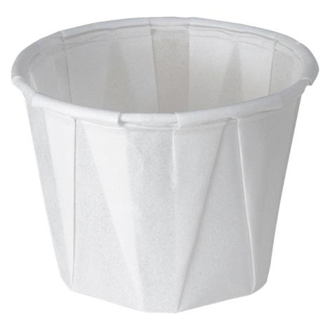 Medline Disposable Paper Souffle Drinking Cups
