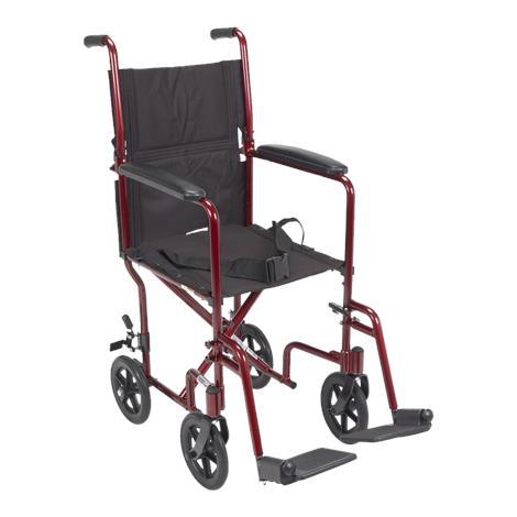 Cardinal Health Aluminum Lightweight Transport Chair