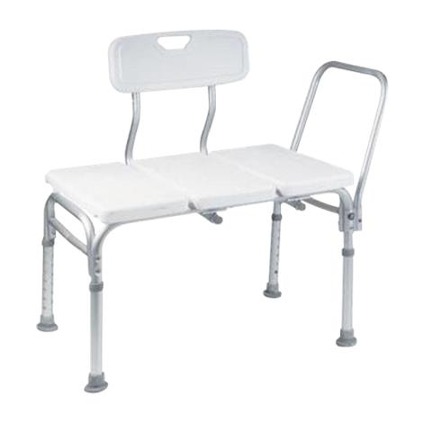 Cardinal Health Transfer Bench With Removable Backrest And Handrail