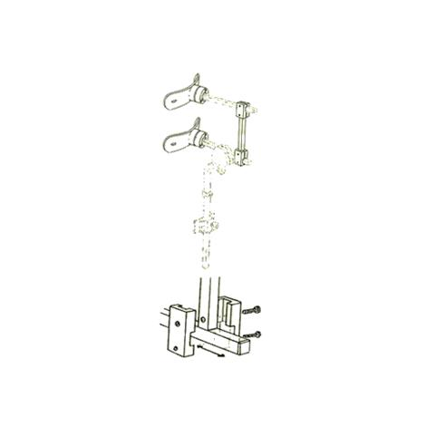 Danmar 6818-D Two Step Head Support with Hensinger and Otto Bock Mount