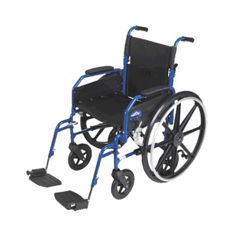Medline Hybrid 2 Transport Wheelchair Chair