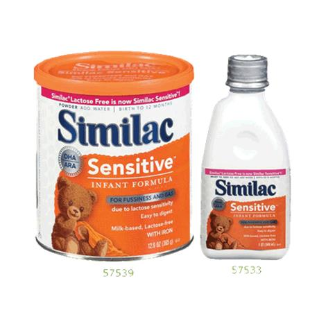 Abbott Similac Sensitive Infant Formula with Iron