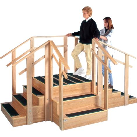 Hausmann Patented Three-In-One Training Staircase