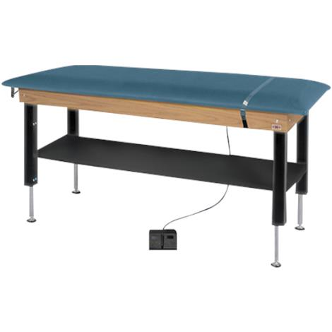 Hausmann Hi-Lo Power Plinth Treatment Table With Shelf