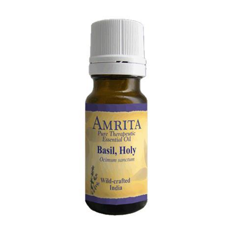 Amrita Aromatherapy Basil Holy Organic Essential Oil
