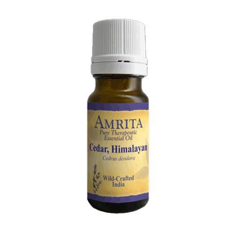 Amrita Aromatherapy Cedar Himalayan Organic Essential Oil