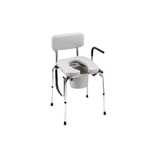 Homecraft Drop-Arm Commode with Padded Seat
