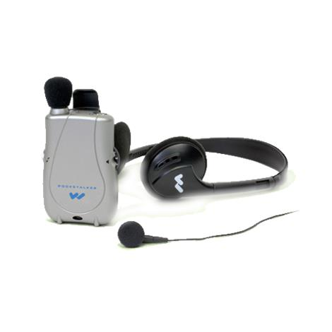 William Sound Pocketalker Ultra Personal Sound Amplifier With Earbud And Headphone