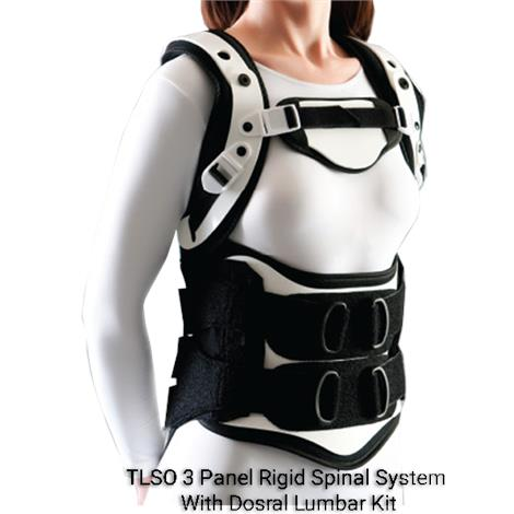 Optec Edge SL TLSO 3 Panel Rigid Spinal System With Dorsal Lumbar Kit