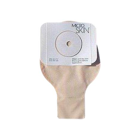 Cymed MicroSkin One-Piece Thick MicroDerm Plus Washer Drainable Pouch with Press n Seal Closure
