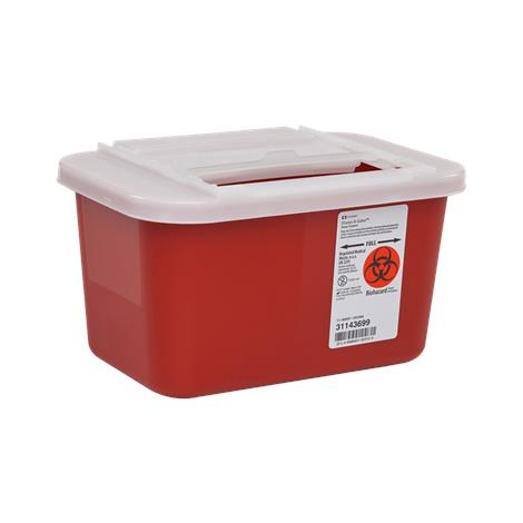 Covidien Kendall Multi-Purpose Sharps Container With Sliding Lid