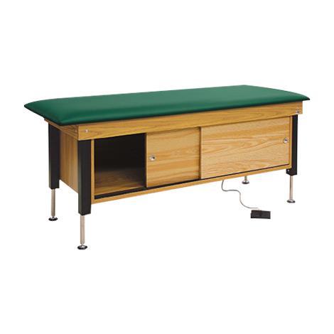 Hausmann 4717 Hi-Lo Power Cabinet Treatment Table