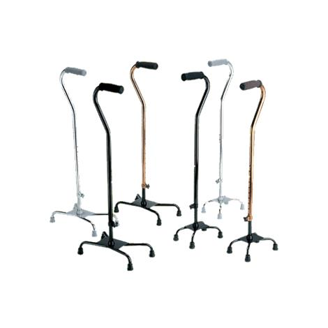Medline Aluminum Small Base Quad Cane
