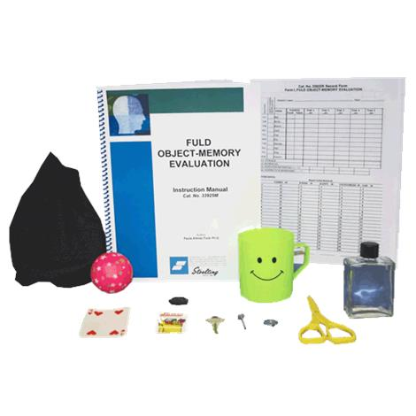 Stoelting Fuld Object Memory Evaluation Kit