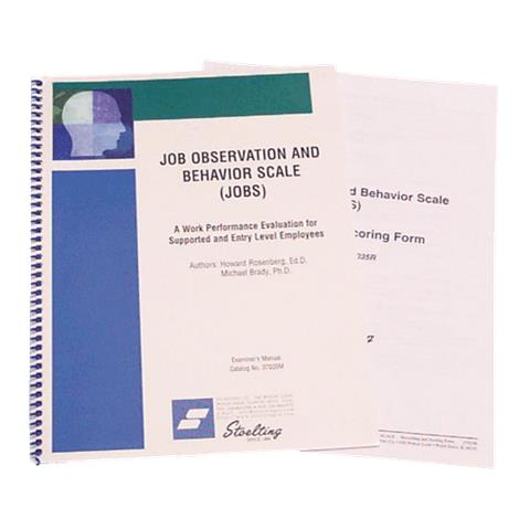 Stoelting Job Observation And Behavior Scale Kit