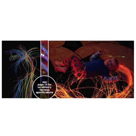 Universal Fiber Optic Sensory UV Reactive Supersafe Harness Kit