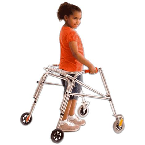Kaye PostureRest Four Wheel Walker With Seat And Front Swivel Wheel For Small Children