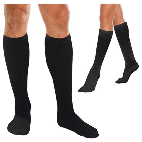 Knit-Rite Core-Spun Unisex 20-30mmHg Moderate Support Unisex Compression Socks