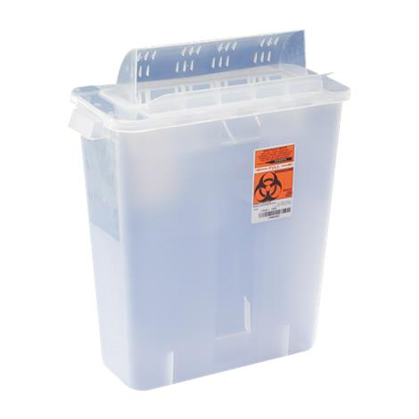 Covidien Kendall In-Room Sharps Container with Mailbox Style Lid