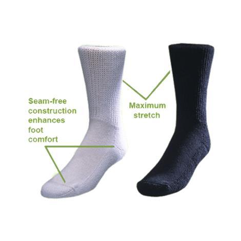 Medicool Black Diasox Diabetes Socks