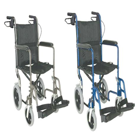 Mabis DMI 19 Inches Lightweight Aluminum Transport Chair