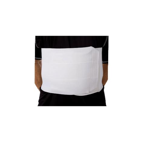 AT Surgical Three Panel 9 Inches Wide Unisex Abdominal Binder