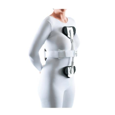 Optec Cross Hyperextension Back Brace