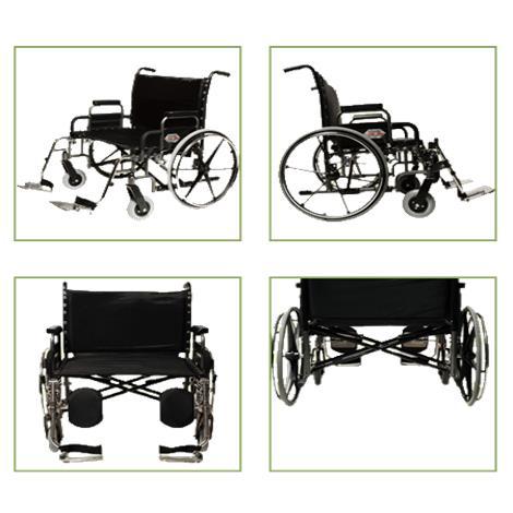 Graham-Field Paramount XD Bariatric Manual Wheelchair
