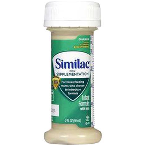 Abbott Similac For Supplementation Infant Formula with Iron