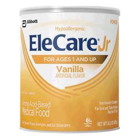 Abbott EleCare Jr Vanilla Amino Acid-Based Medical Food