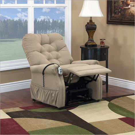 Med-Lift 15 Series Three Way Petite Wide Lift Chair