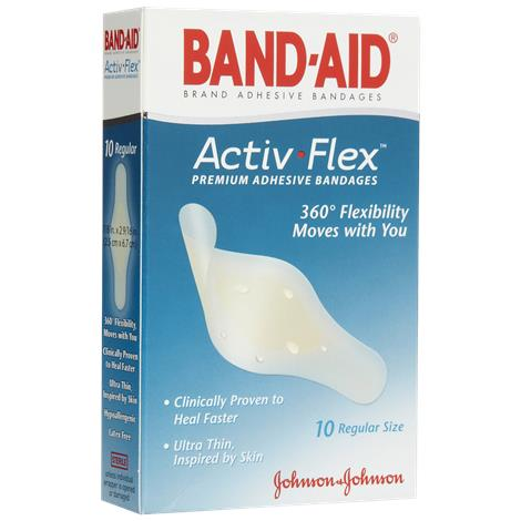 Johnson & Johnson Band-Aid Active Flex Adhesive Bandage