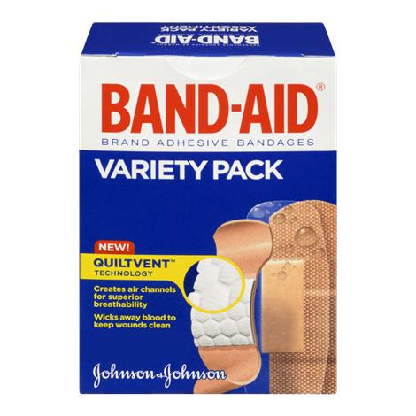Johnson & Johnson Band-Aid Adhesive Bandages Variety Pack