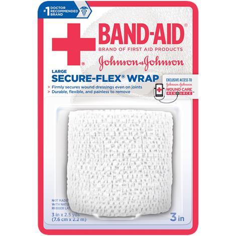 Buy Johnson & Johnson Band Aid Secure Flex Wrap