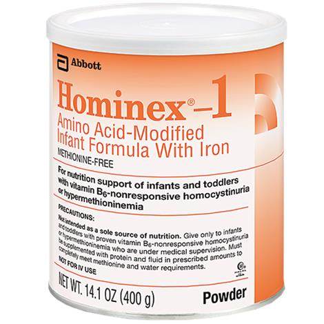 Abbott Hominex 1 Amino Acid-Modified Infant Formula With Iron