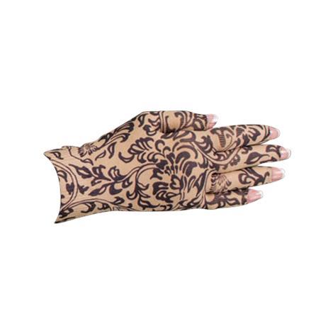 LympheDivas Damask Bei Chic Compression Glove
