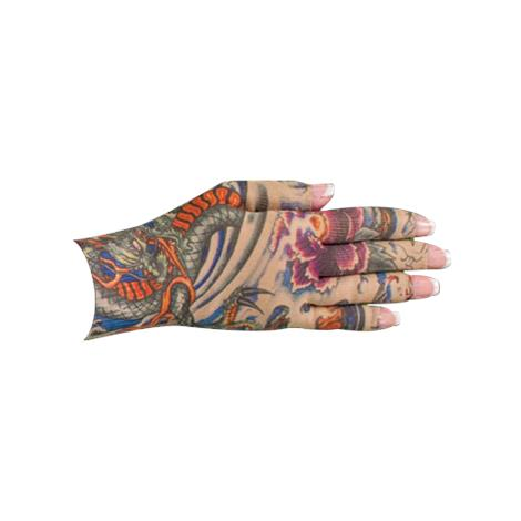 LympheDivas Lotus Dragon Tattoo Compression Glove