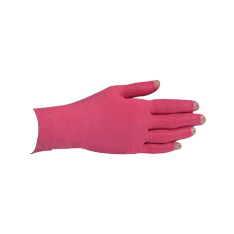 LympheDivas Fuchsia With Crystal Ribbon Compression Glove