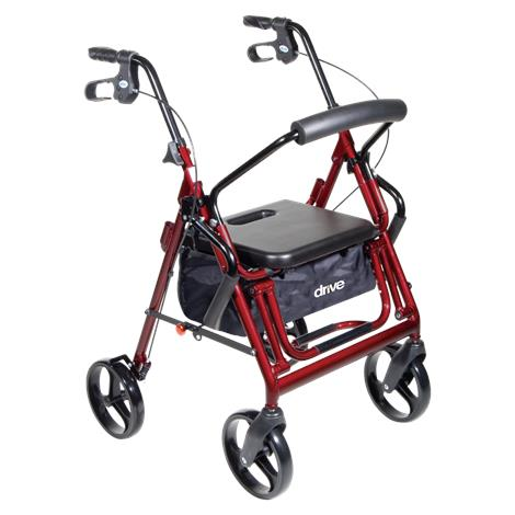 Drive Duet Transport Chair and Rollator