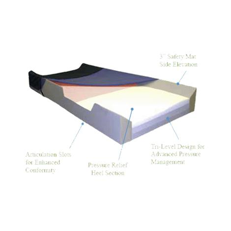 Hudson Medical Safety-Mat Pressure Reduction Foam Mattress