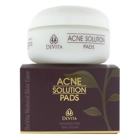 Devita Natural Skin Care Acne Solution Pads