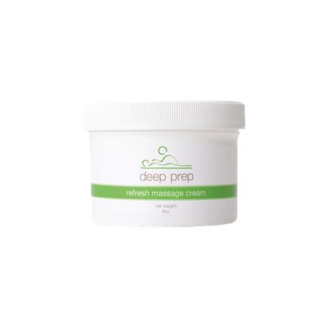 Deep Prep Refresh Massage Lotion and Cream