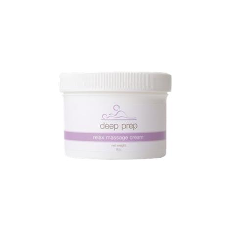Deep Prep Relax Massage Lotion and Cream