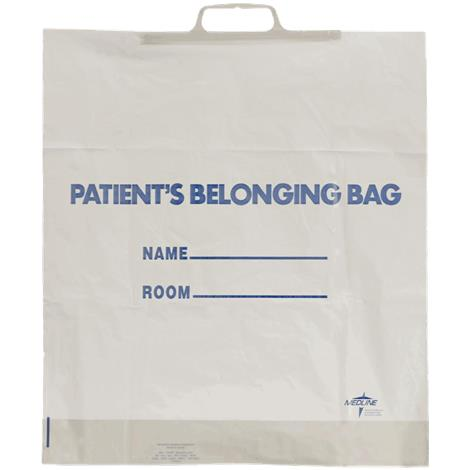 Medline Rigid Handle Patient Belongings Bag
