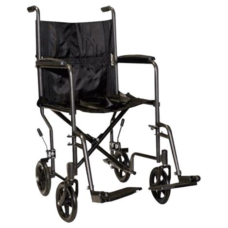 ProBasics Steel Transport Wheelchair With Swing Away Footrest