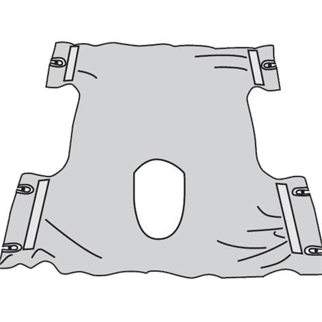 Drive Commode Patient Sling Without Head Support