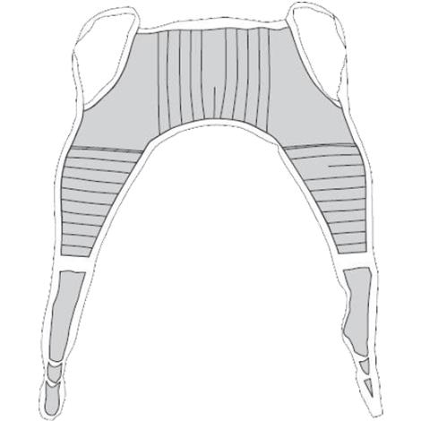 Drive Padded U-Sling without Head Support
